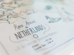 Map – Race around The Netherlands